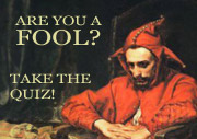 Are You a Fool?
