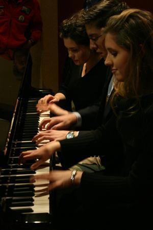 Piano Improv x3