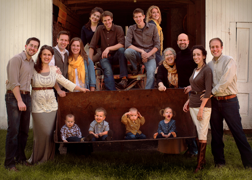 A huge part of our life is our wonderful family (our father Geoffrey Botkin, our mother Victoria Botkin, our five brothers, three sisters in law, one niece, and soon-to-be-six nephews.)